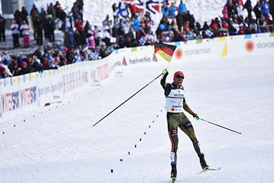 Johannes Rydzek winner in Lahti