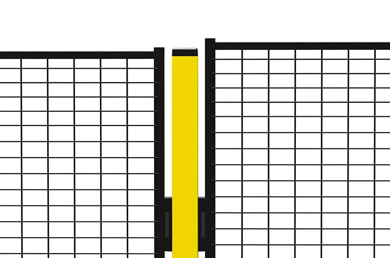 Height adjustment on your mesh walls