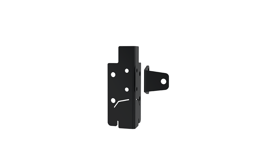 Inner corner bracket to Kick plate